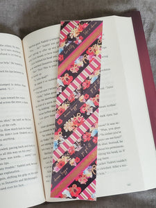 Washi Tape Bookmark - Florals