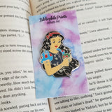 Power Series : Snow White Enamel Pin and Sticker