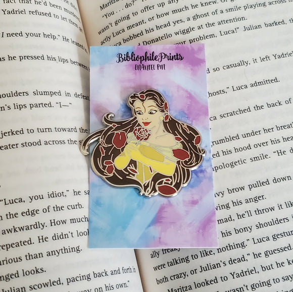 Power Series : Belle Enamel Pin and Sticker
