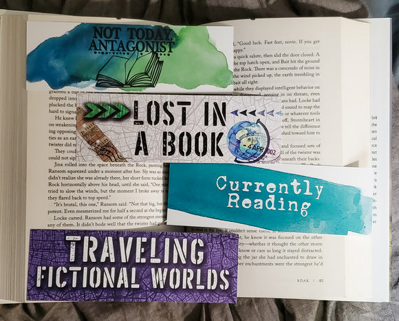 Basic Bookish March 2021 Bookmarks