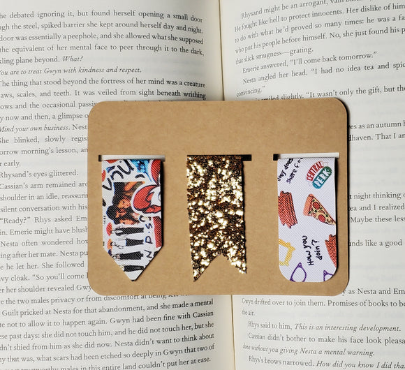 Friends TV Show Leather Bookmarks