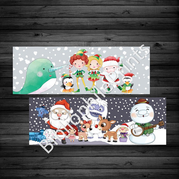 Christmas Movies - Rudolph and Elf Double Sided Dollar sale