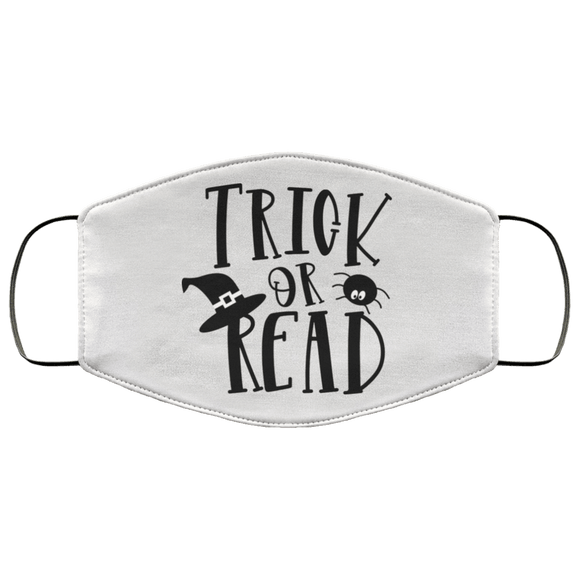 Trick or Read FMA Face Mask - bibliophileprints