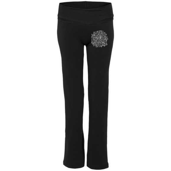 Books Circle S16 Ladies' Yoga Pants - bibliophileprints