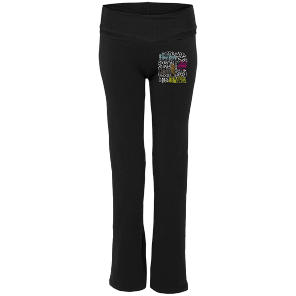 Books S16 Ladies' Yoga Pants - bibliophileprints