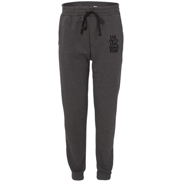 Read BU8800 Adult Fleece Joggers - bibliophileprints
