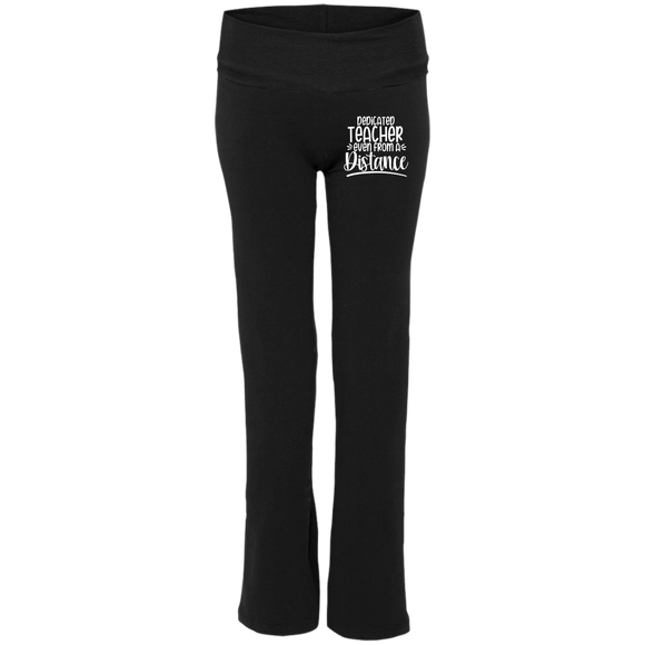 Teacher from a Distance S16 Ladies' Yoga Pants - bibliophileprints