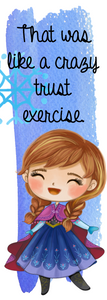 Frozen - Anna 2 Bookmark