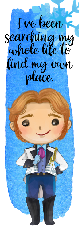 Frozen - Hans Bookmark