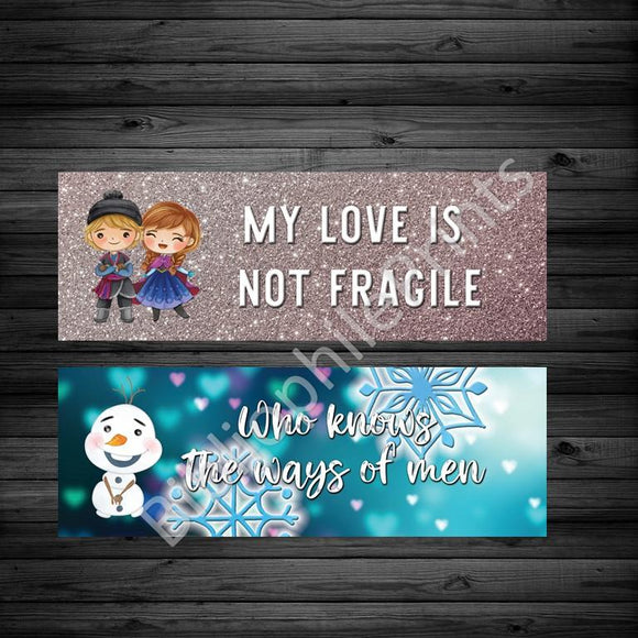 Frozen II Double Sided Bookmark - bibliophileprints