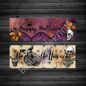 Happy Halloween Double Sided Bookmark