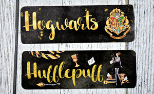 Hufflepuff Double Sided Bookmark