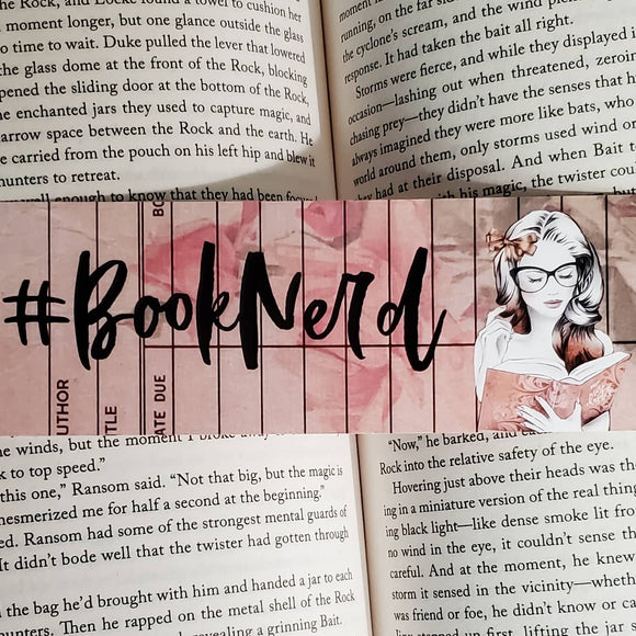 Book Nerd Bookmark