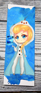 Elsa Bookmark with Art from LilSushiRolls