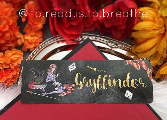 Gryffindor Double Sided Bookmark