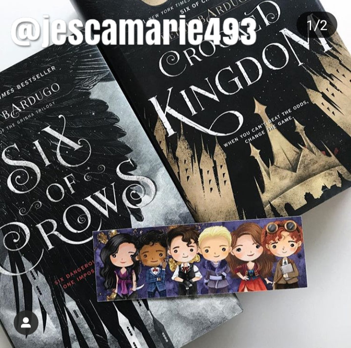 Six of Crows Double Sided Bookmark