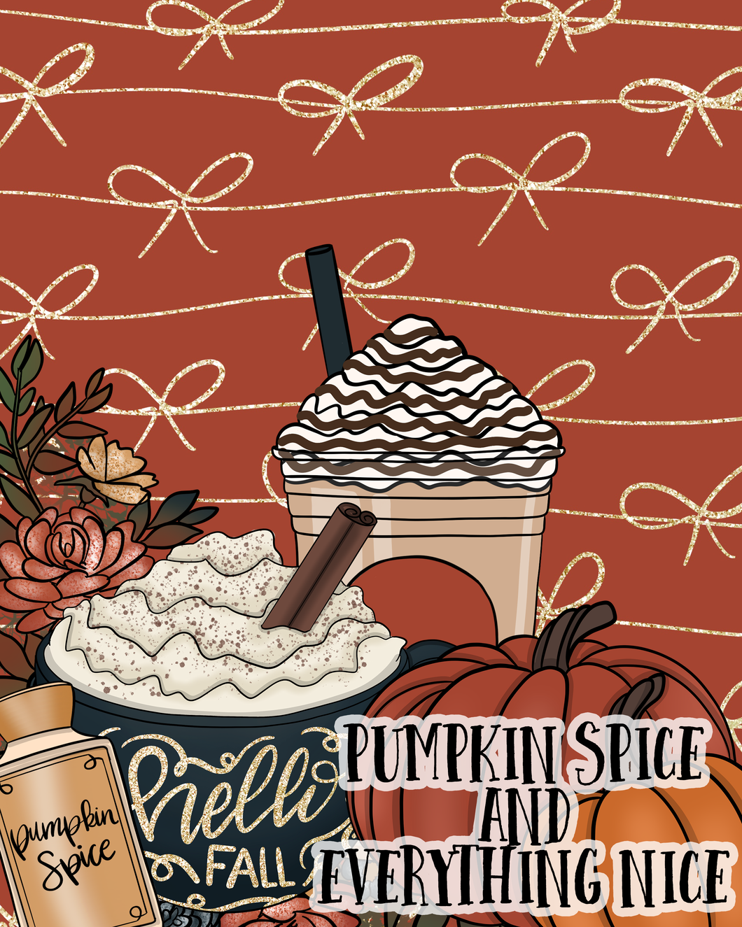 September Box - Pumpkin Spice  4x6 Postcard
