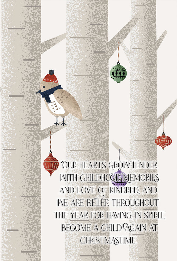 Christmas Laura Ingalls Wilder Quote 4x6 Print