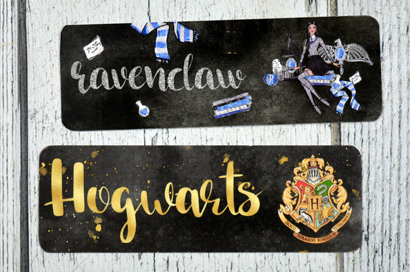 DOLLAR SALE Ravenclaw Double Sided Bookmark