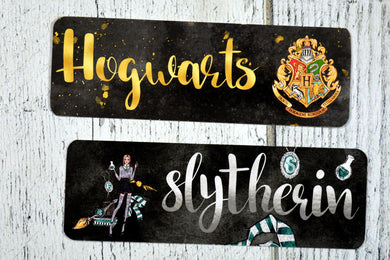 Slytherin Double Sided Bookmark