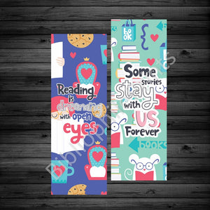 Stories/ Dreaming Double Sided Bookmark