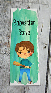 Stranger Things Steve Bookmark