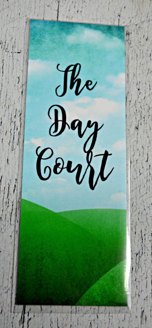 The Day Court Bookmark - 2
