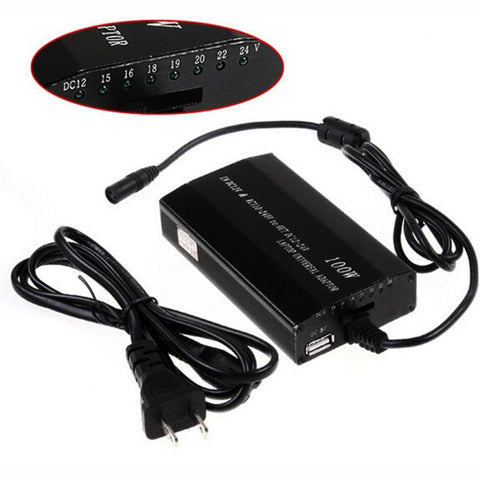 2016 New Arrival For Laptop In Car DC Charger Notebook AC Adapter Power Supply 100W Universal