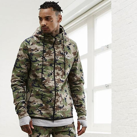 Men Camouflage sweatshirt