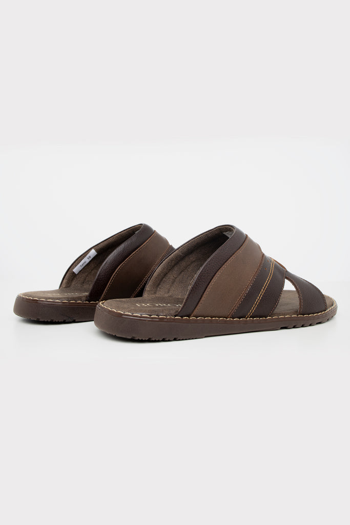 Boronea Beach Sandals Brown - Boronea