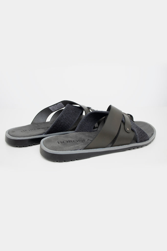 Boronea Beach Sandals Grey - Boronea