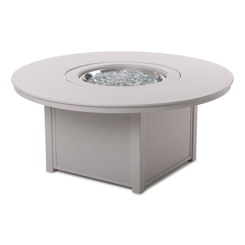 42'' Round Fire Table - Snow
