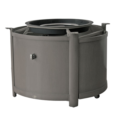 Elba Round Fire Table Base w/Burner