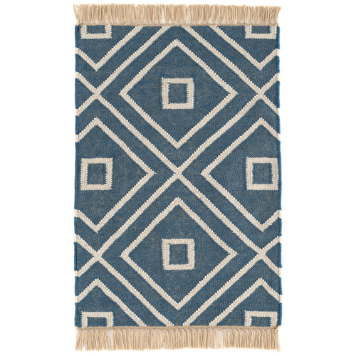 Mali Indigo 5X8 Area Rug Indoor/Outdoor