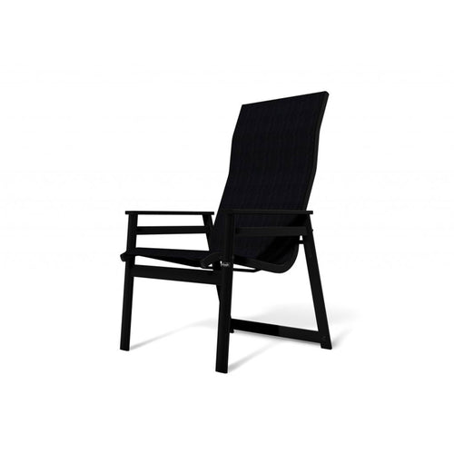 Mobel Stackable Patio Chair - Black