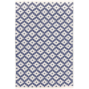 Samode Denim/Ivory 6X9 Area Rug Indoor/Outdoor