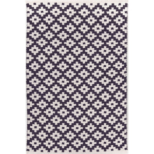 Samode Navy/Ivory 6X9 Area Rug Indoor/Outdoor