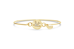 Pavé Icon Bracelet Dove Bird