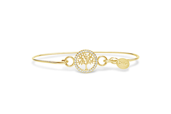 Pavé Icon Bracelet Tree of Life