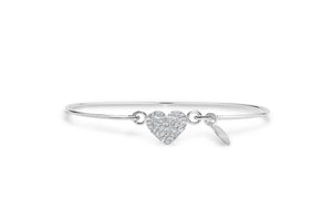 Pavé Icon Bracelet Heart