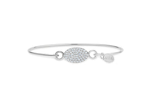 Pavé Icon Bracelet Oval