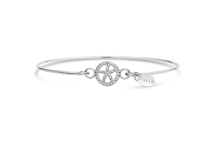 Stia by the Sea Pavé Starfish Circle Bracelet