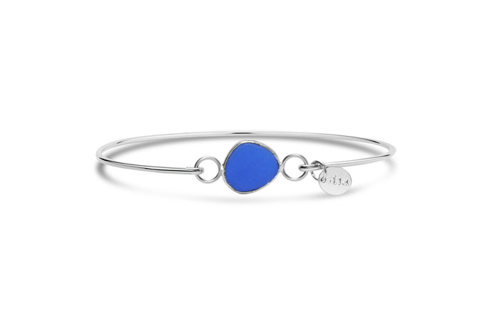Stia by the Sea Cobalt Sea Glass Bracelet