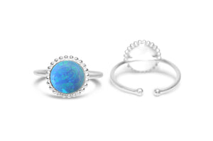 Blue Opal It Fits! Ring