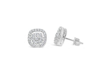 """Dress Up"" Earring Silver Pavé-Pavé"
