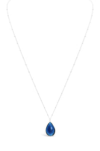London Blue Long & Layered Necklace