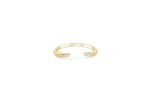 """It Fits"" Ring Triple Pavé Cuff"