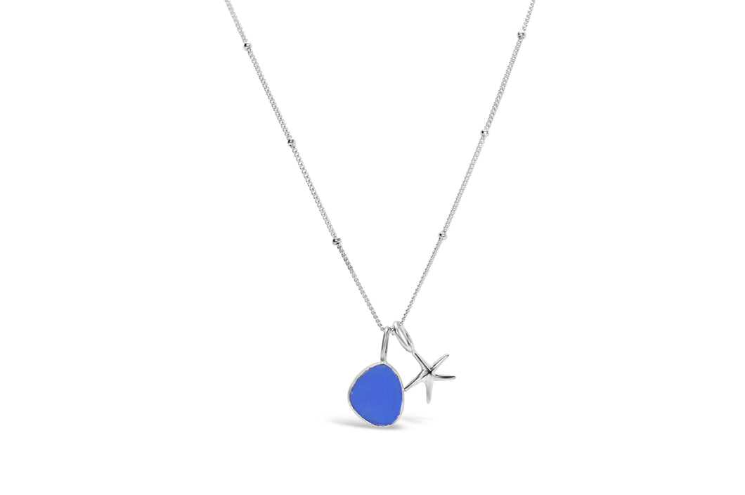 Stia by the Sea Cobalt Starfish Necklace