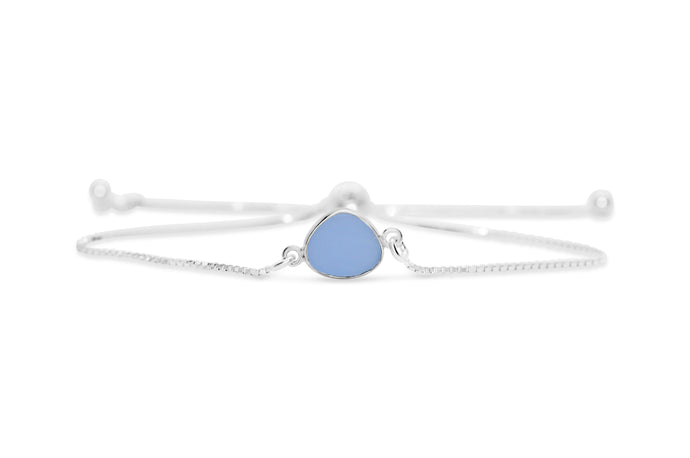 Stia by the Sea Peri Sea Glass Pull Cord Bracelet
