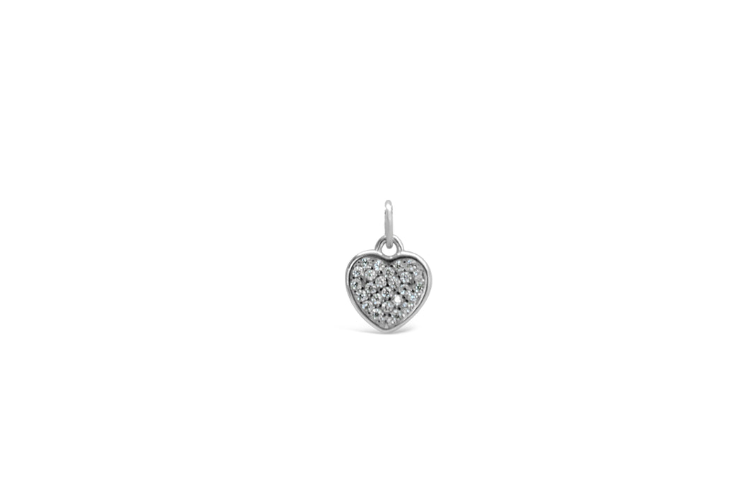 Pavé Heart Add On Charm